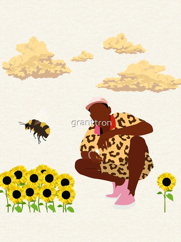 Tyler, The Creator - Flower Boy by granttron