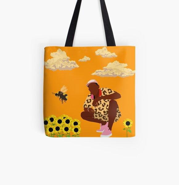 Tyler, El Creador - Flower Boy Bolsa estampada de tela