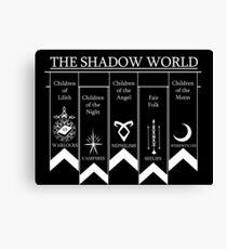 The shadow World - Shadowhunters Canvas Print