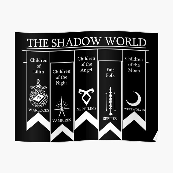 Le Monde des Ombres - Shadowhunters Poster