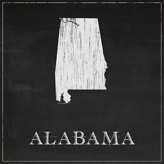 Alabama - Chalk by FinlayMcNevin