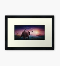 Mystical Time Zone Framed Print