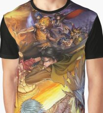 Anime Mix Graphic T-Shirt