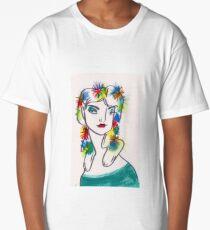 Flora Crown Long T-Shirt
