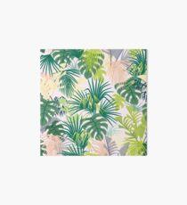 rosa Dschungel Muster Galeriedruck