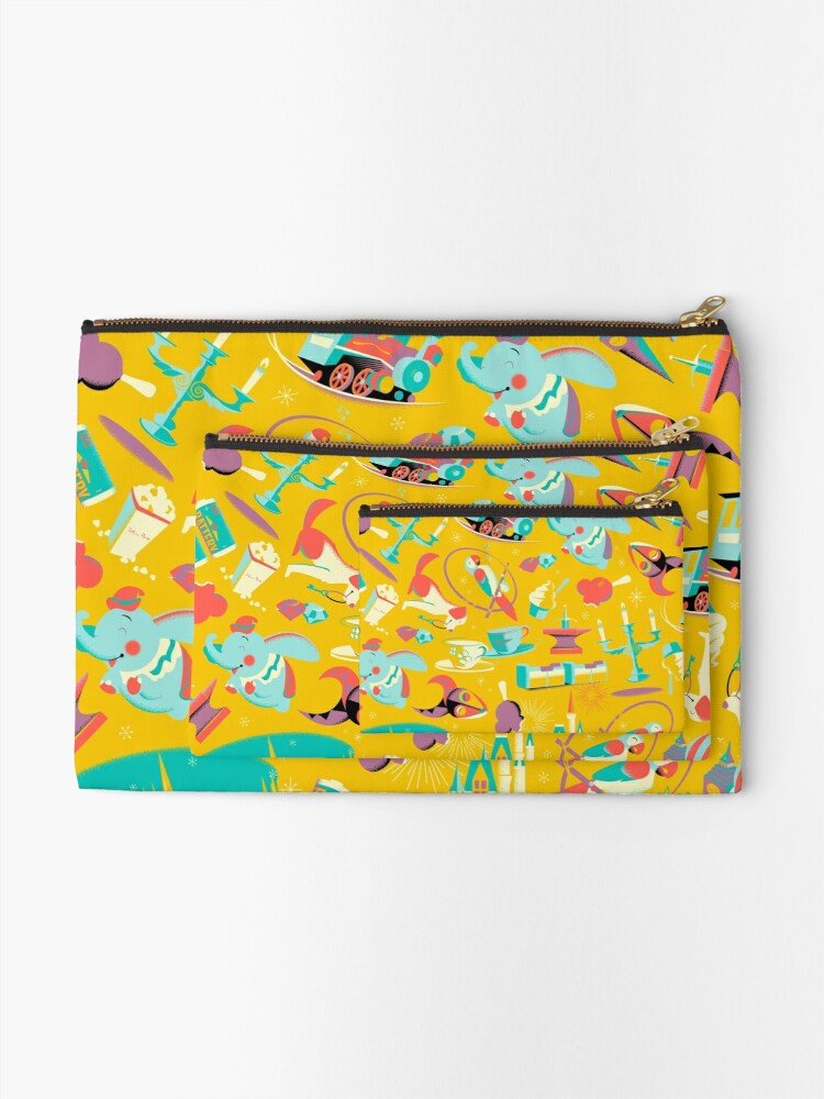 Alternate view of The Most Magical Place on Earth Zipper Pouch