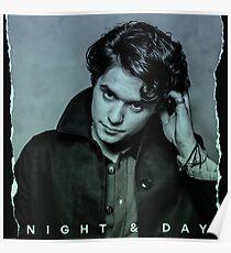 Brad Night&Day Poster
