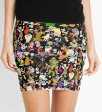 Retro Cartoons phone cases rugrats 80s 90s tv show cartoon Mini Skirt