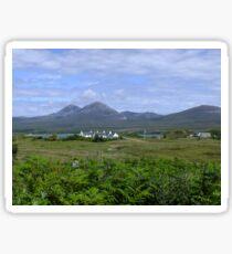 The Paps Of Jura, Scotland Sticker