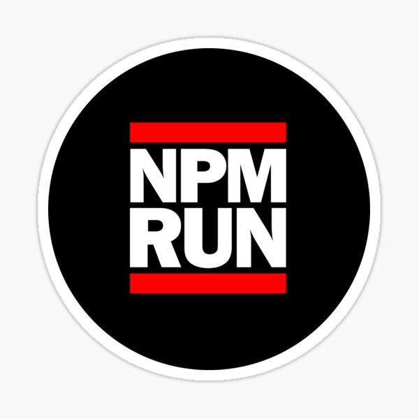 NPM RUN Sticker