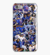 chicago cubs collage iPhone Case/Skin