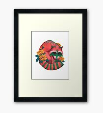 Watermelon Raccoon  Framed Print
