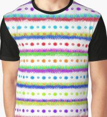 bunt gestricktes Kuschelmuster - Majestic - World Graphic T-Shirt