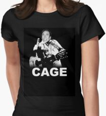 CAGE Women's Fitted T-Shirt
