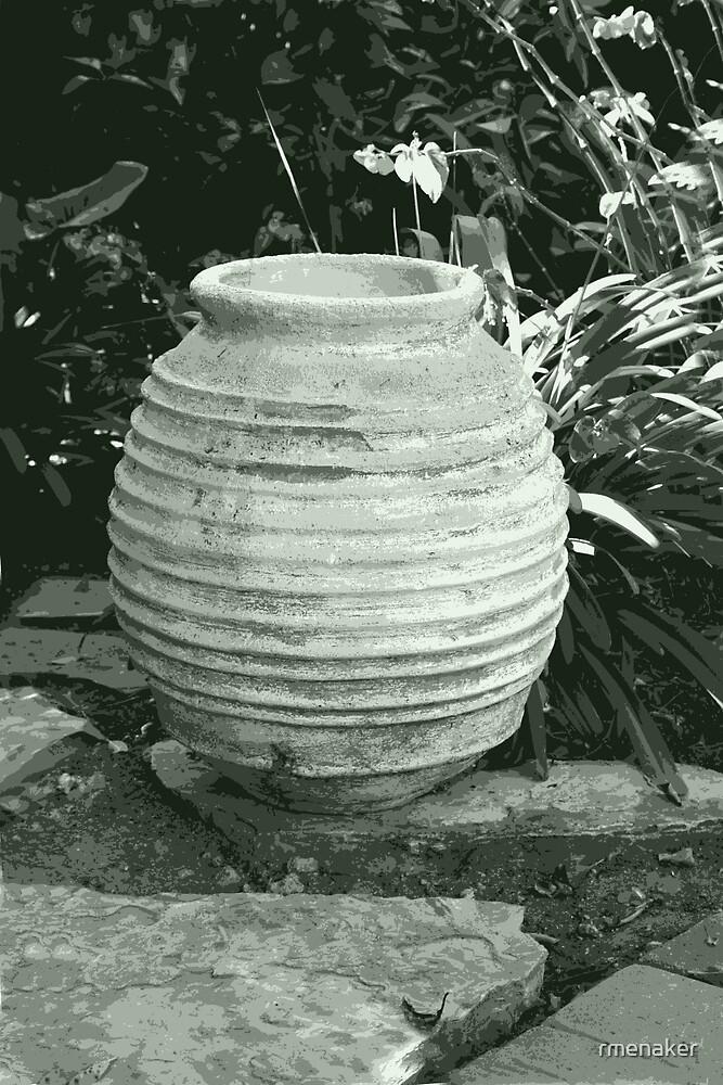 clay jar, Long Beach CA by rmenaker