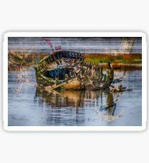 Shipwreck Sticker