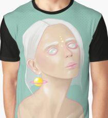 Alien babe illustration  Graphic T-Shirt