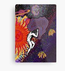 Psychedelic Myth Of Sisyphus Metal Print