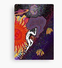 Psychedelic Myth Of Sisyphus Canvas Print