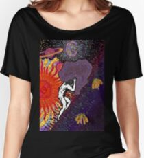 Psychedelic Myth Of Sisyphus Women's Relaxed Fit T-Shirt