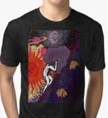 Psychedelic Myth Of Sisyphus Tri-blend T-Shirt
