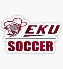 EKU Eastern Kentucky University Soccer Sticker