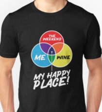The Weekend - Wine T-Shirt