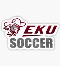 EKU - Eastern Kentucky University Soccer Sticker