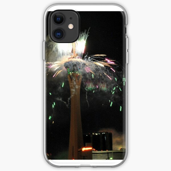 New Year's Eve Fireworks iPhone Soft Case