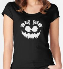 Haunted Mansion Boogey Man Women's Fitted Scoop T-Shirt