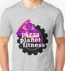 Funny Fitness Planet Parody T-Shirt
