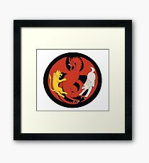 The Great War Is Here Framed Print