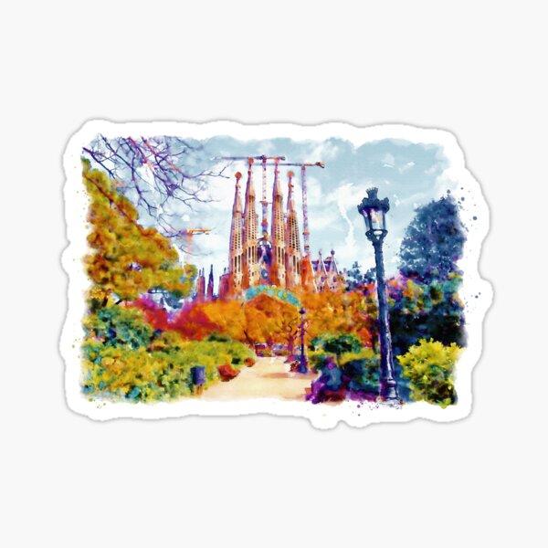 La Sagrada Familia - Park View Sticker