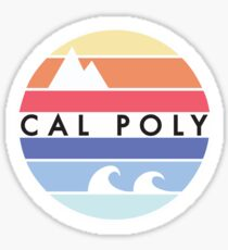 Cal Poly circle  Sticker