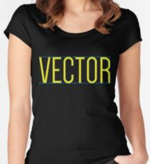 VECTOR Women's Fitted Scoop T-Shirt