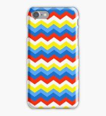 Chevron- Bright Primary iPhone Case/Skin