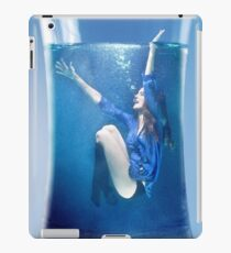 Girl in a Glass of Water iPad Case/Skin