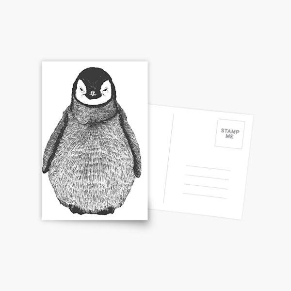 penguin - Animal Theme Design Suitable for Men and Women Postcard