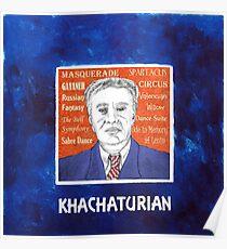 Aram Ilich KHACHATURIAN Poster