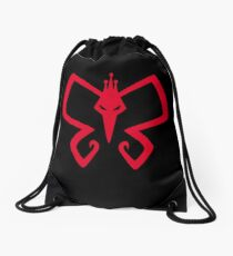 The Monarch Reborn! Drawstring Bag