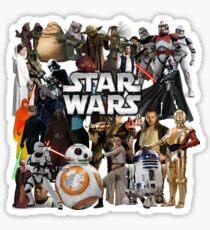 Star Wars Characters Sticker