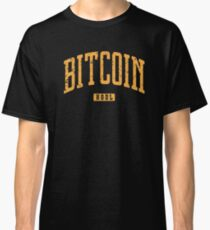 Bitcoin HODL Vintage Style Classic T-Shirt