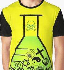 TOXIC FAITH RADIOACTIVE Graphic T-Shirt