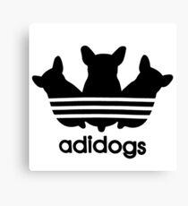 ADIDOGS - Adidas Parody Canvas Print