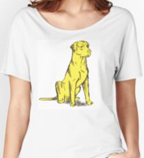 Yellow Labrador Women's Relaxed Fit T-Shirt
