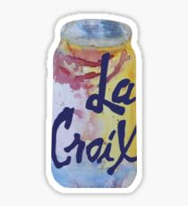 Water Color La Croix Sticker
