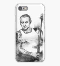 Chester Bennington realistic drawing fan art tribute iPhone Case/Skin