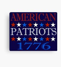 Patriot 1776  Canvas Print