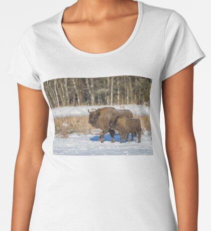 Bison Bonasus Women's Premium T-Shirt