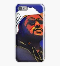 Abstract Schoolboy Blue iPhone Case/Skin